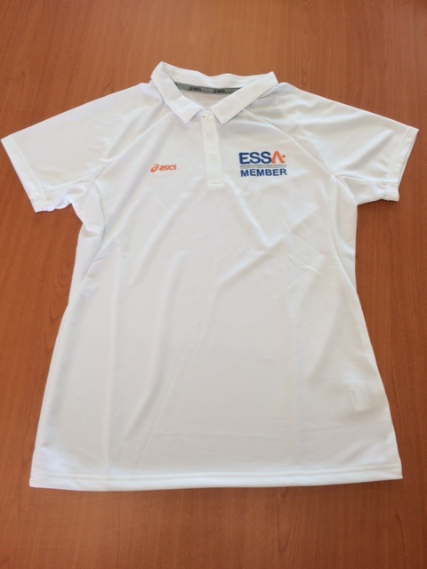 Women ESSA Member ASICS polo shirt - White 14