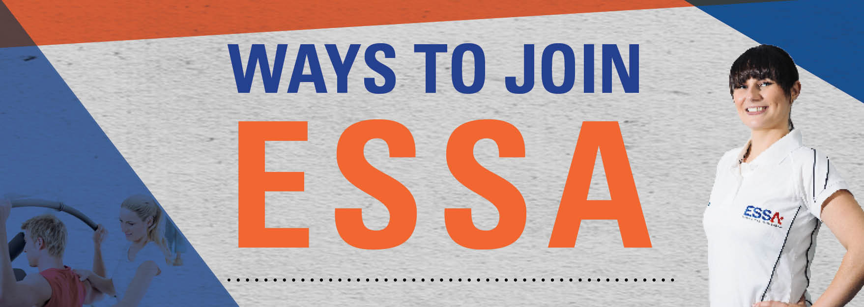 ways to join essa banner