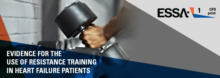 Evidence for the use of resistance training in heart failure patients podcast