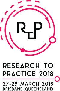 RTP 2018  logo red colour portrait